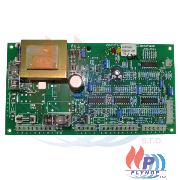 Ovládací elektronika DAKON DUA 24 CK, RK ( honeywell ) - 7008 0109 / 87381013690 / 95000357