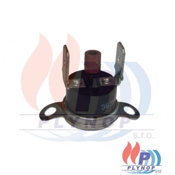Komínový termostat DAKON DUA 80°C spalinový - 7018 0120 / 8738101274