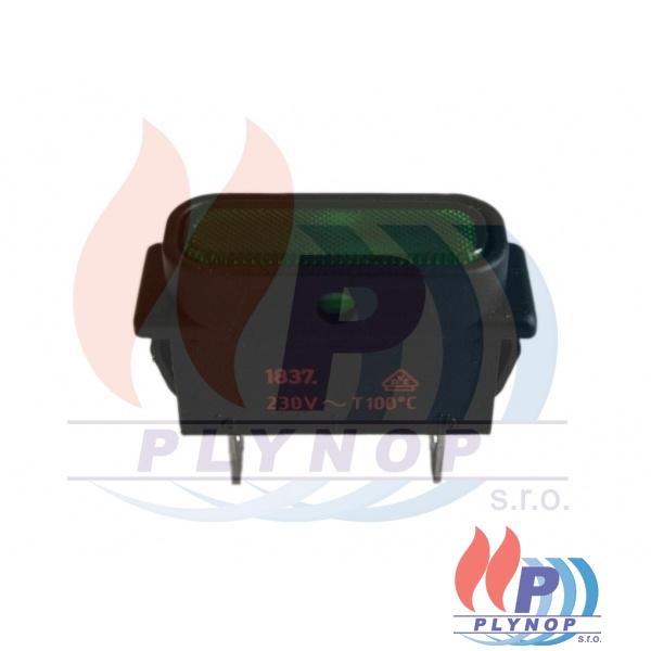 Kontrolka zelená FK - Technics DESTILA - 345015000