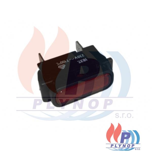 Kontrolka červená FK - Technics DESTILA - 345014000