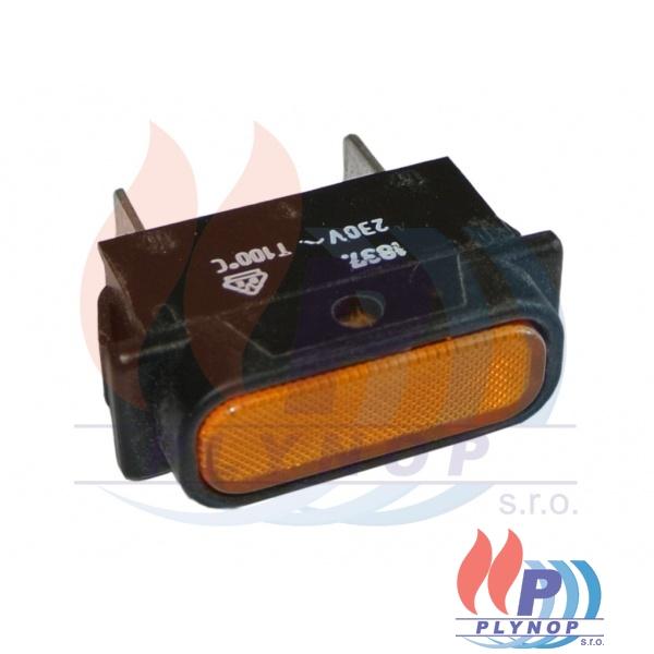 Kontrolka žlutá FK - Technics DESTILA DPL AUTOMATIC - 345016000