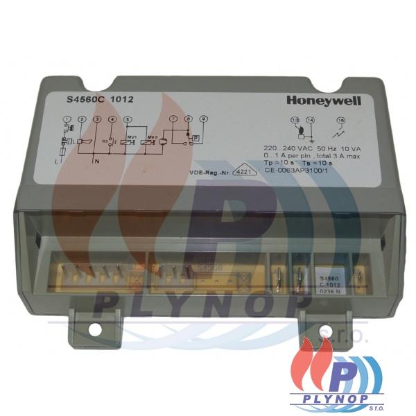 Ovládací automatika Honeywell - šedá S4560 C1012, DAKON PK 6, 8, 10 - 7348 1711