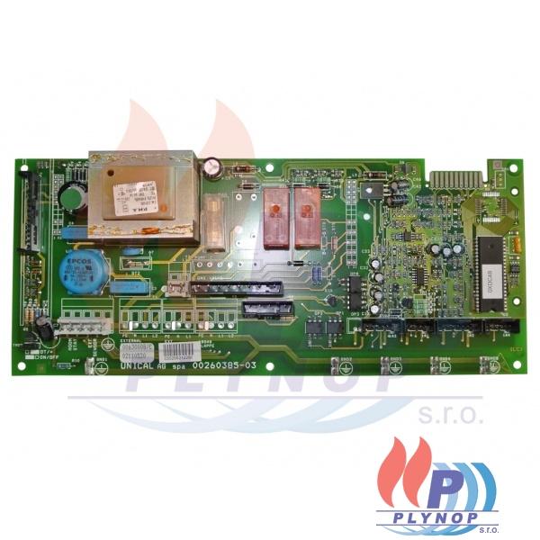 Ovládací automatika DAKON IPSE komín / turbo - 1131 6049 / 87381016990 / 95630008
