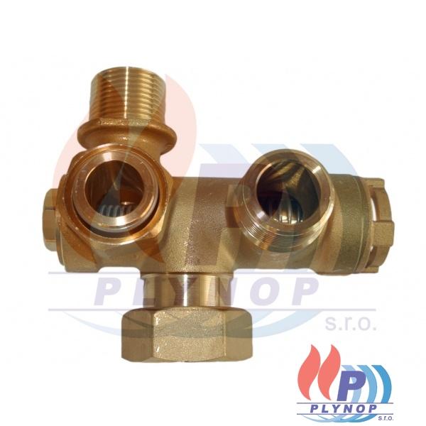 Trojcestný ventil DAKON BEA 24, 28, BK, BT - 1150 6604 / 87381018020 / 95260763