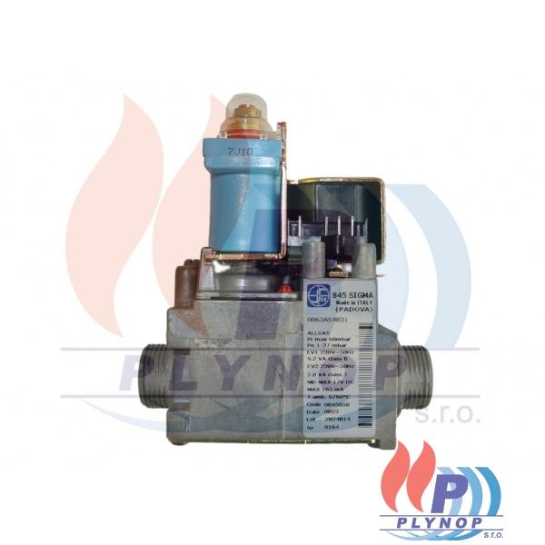 Plynová armatura SIGMA ALLGAS, DUA PLUS, BEA 24,28 - 1150 6603 / 8738101807 / 95260807
