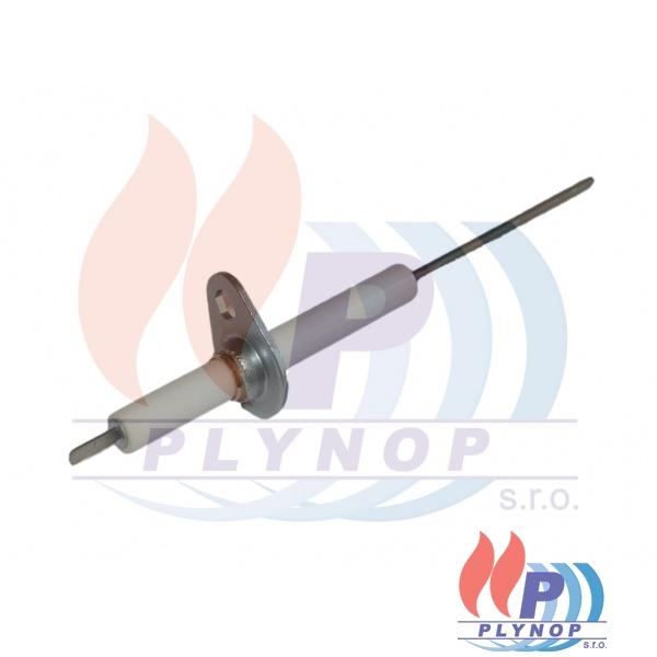 Elektroda ionizační ( s konektorem ) DAKON P LUX,  DAKON GL EKO, MT, PT - 7116 0379 / 87381018490 / 71160379