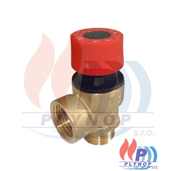 Pojistný ventil 3bar DAKON DUA 24 / 30 CK, CT, RK, RT - 1150 6635