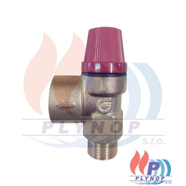 Pojistný ventil 3bar BUDERUS Logamax U102 / U104 /U002 / U004 / GB112 - 7100064