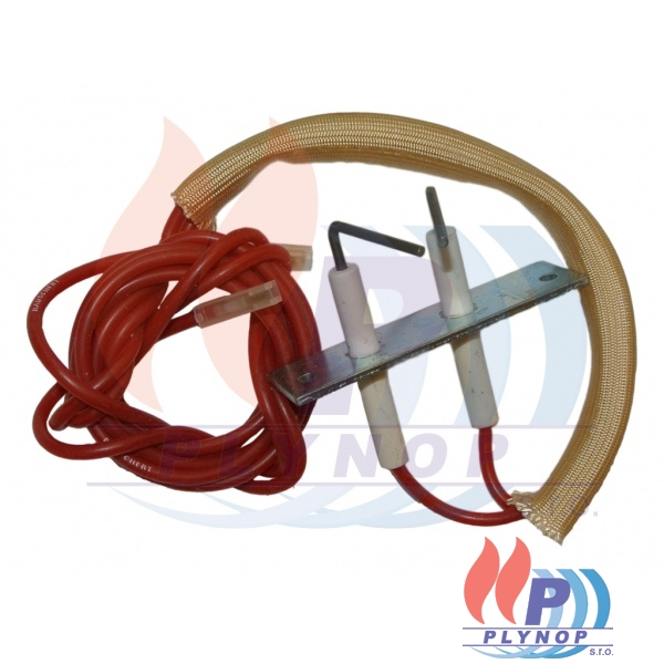 Zapalovací elektroda s kabelem a koncovkou BUDERUS Logamax U002 / U102 / U004 / U104 - 7101120