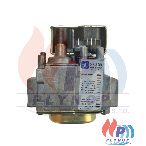 Plynová armatura SIT 840 Sigma DESTILA DPL - 840026.10
