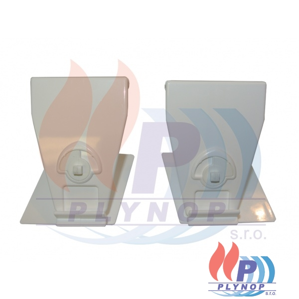 Zámek krytu BUDERUS GB112 - 7099834 2xlevý / 2x pravý