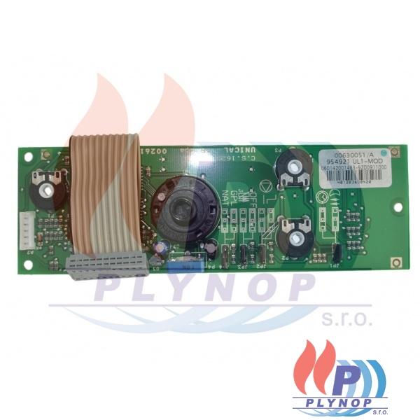 Elektronika ovládacího panelu display DAKON DUA PLUS - 1199 0095 / 87381024760