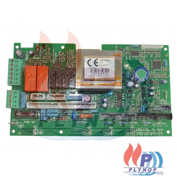 Ovládací elektronika na ohřev vody DAKON DUA PLUS 24 C / D - 1199 0005 / 87381000020 / 95000480