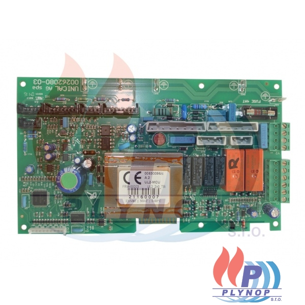 Ovládací elektronika bez ohřevu vody DAKON DUA PLUS 24 R - 1199 0007 / 87381000040 / 95000620