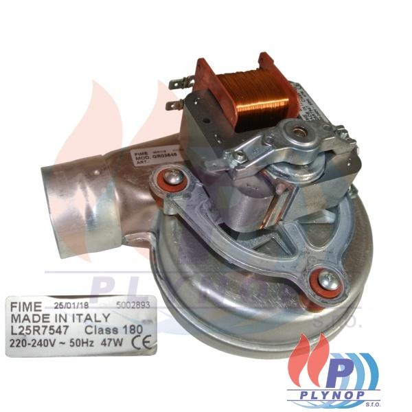 Ventilátor spalin DAKON DUA 24 CT, BEA T - 7004 0104 / 87381014030 / 95261072