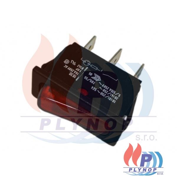 Vypínač s konrolkou FK Technik DESTILA - 345012000