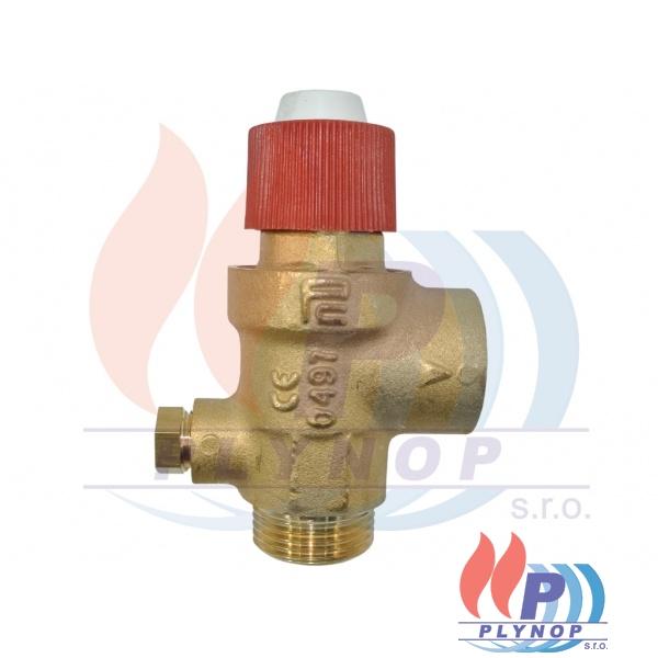 Pojistný ventil 3bar s vývodem na manometr BUDERUS Logamax U012 / U014 - 87215743960