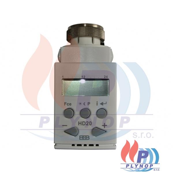 Digitální termostatická hlavice HD20 ELEKTROBOCK - 0160