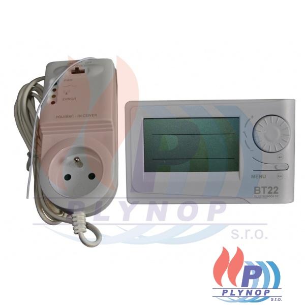 Bezdrátový prostorový termostat BPT 22 ELEKTROBOCK - 656