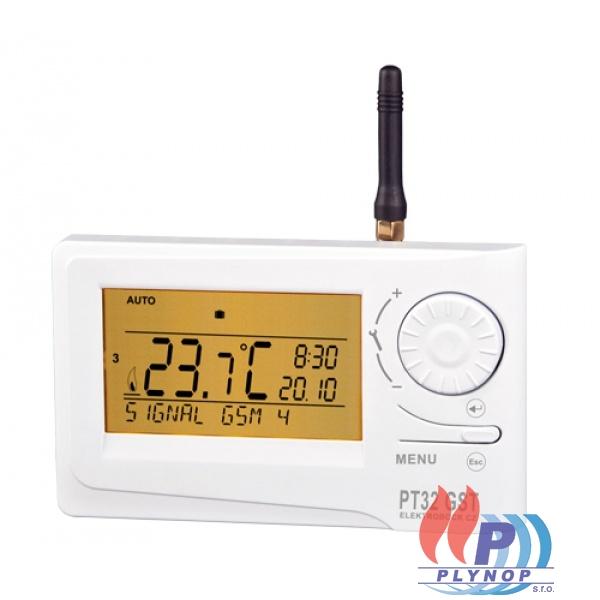 Prostorový termostat PT 32 s GST modulem ELEKTROBOCK - 0639