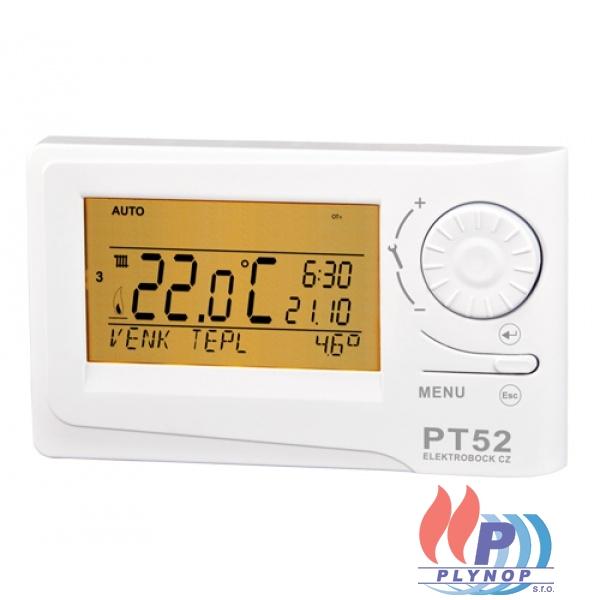 Prostorový termostat PT52 s OpenTherm komunikací ELEKTROBOCK - 0657