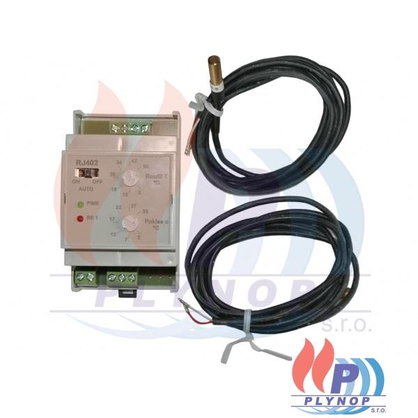 Diferenční elektronický termostat RJ402 ELEKTROBOCK - 4402..