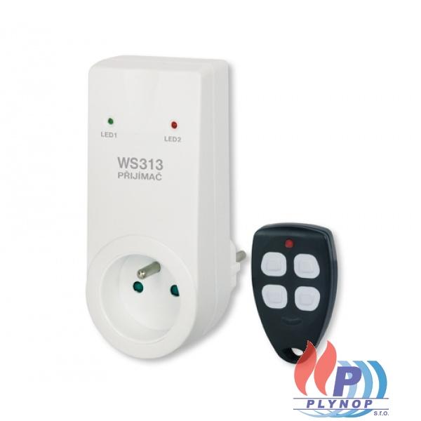 Dálkově ovládaná zásuvka + klíčenka WS313 ELEKTROBOCK - 3313