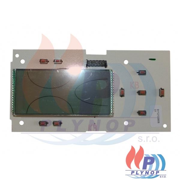 Elektronická deska s displejem DSP05 FERROLI Divatop HC, F - 39820410