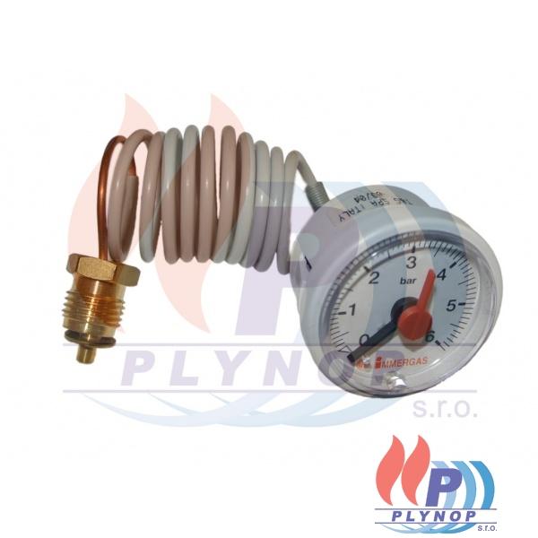 Manometr tlaku 0-6 Bar IMMERGAS AVIO / ZEUS MAIOR, SUPERIOR - 1.015807 / 1.032363 / 1.016787