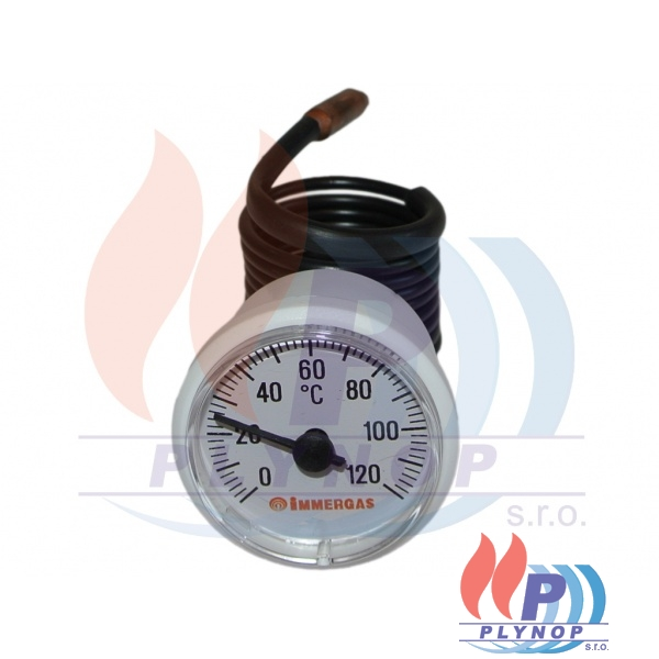 Teploměr 0-120°C IMMERGAS AVIO / ZEUS - 1.012790 / 1.5031 / 1.6586 / 1.015804 / 1.023628