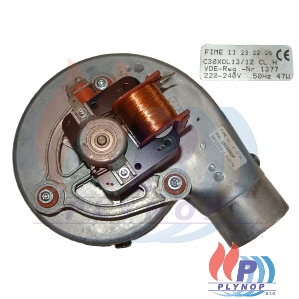 Ventilátor spalin ZEUS 21 MAIOR / ZEUS 21 SUPERIOR - 1.018776 / 1.015555