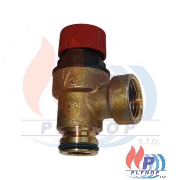 Pojistný ventil 3 bar IMMERGAS EOLO, MAIOR @, STAR 23kW, MINI -  1.016135 / 1.011126