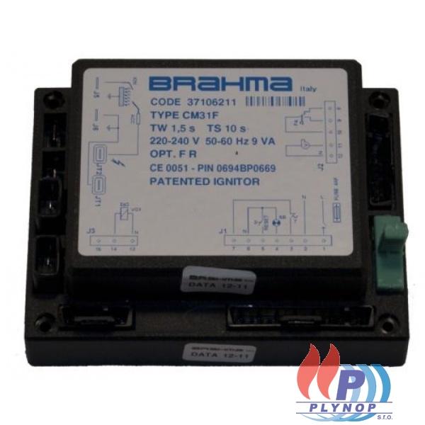 Zapalovací centrála BRAHMA CM31F - turbo - IMMERGAS ZEUS 21/24 MAIOR - 1.024985 / 1.018160 / 1.011730 / 37106206