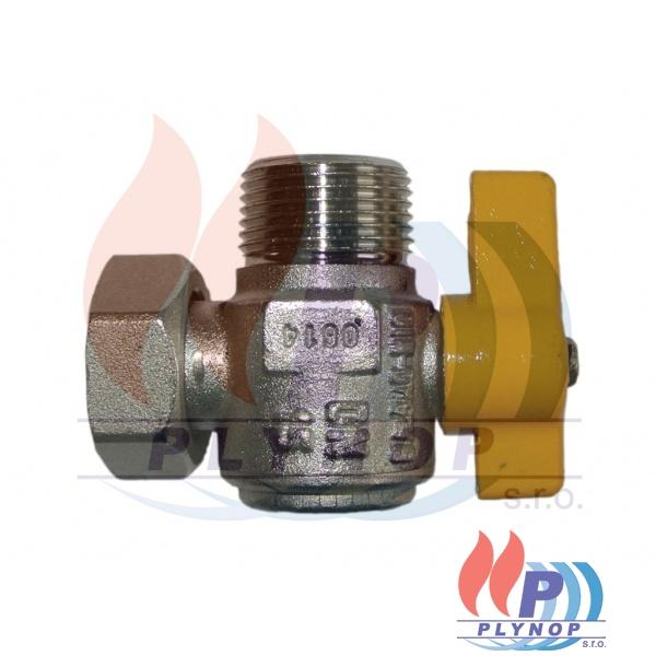 """Kulový plynový ventil rohový 3/4"""" s převlečnou matkou IMMERGAS VICTRIX 50 / 75 - 1.017572"""