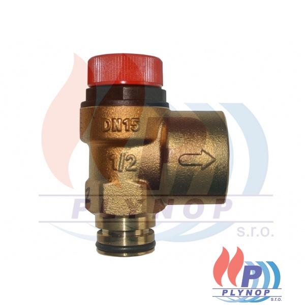 Pojistný ventil 3 bar IMMERGAS ZEUS 27 SUPERIOR, VICTRIX ZEUS PLUS - 1.013372