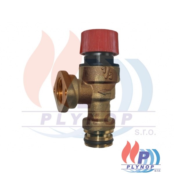 Pojistný ventil 3 bar IMMERGAS VICTRIX X 12 / 24 kW (r.2011) - 1.028643