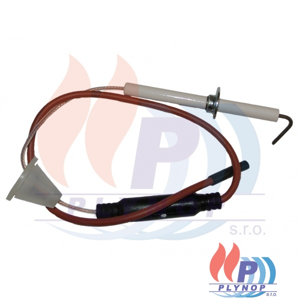 Elektroda zapalovací / ionizační IMMERGAS MINI NIKE X 24/28, MAIOR EOLO X 28 kW - 3.021021 / 3.018963
