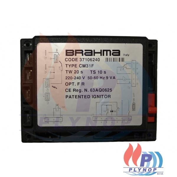 Zapalovací centrála BRAHMA CM 31F - turbo - IMMERGAS - 01CEAP001 / 01CEAP0010000
