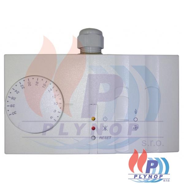 Prostorový termostat MINI JET ( jedna teplota ) signalizace poruchy, zimní / letní provoz, RESET - 4AQB001