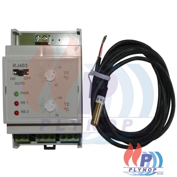Dvoustupňový termostat RJ403 ELEKTROBOCK - 4403.