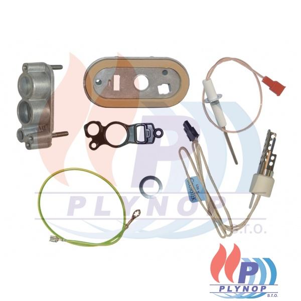 Elektroda žhavící a ionizační BUDERUS GB162 15-45kW, GB 112 - 7736700318 / 8738901662