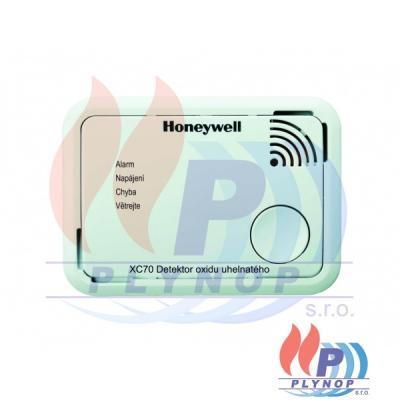 Detektor úniku oxidu uhelnatého CO HONEYWELL - XC70-CS