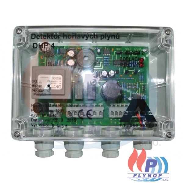 Detektor hořlavých plynů DHP 4