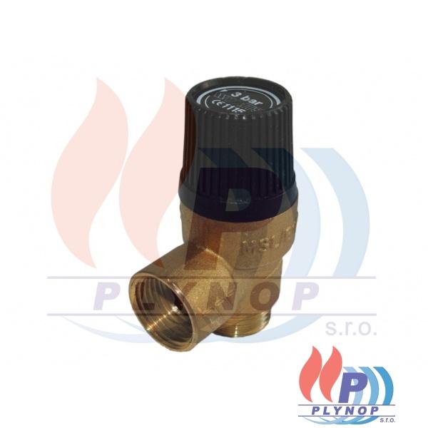 """Pojistný ventil 1/2"""" 3 bar THERMONA - 40302 / 43545"""