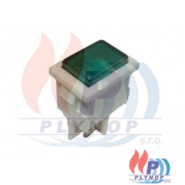 Kontrolka zelená THERMONA - 40014