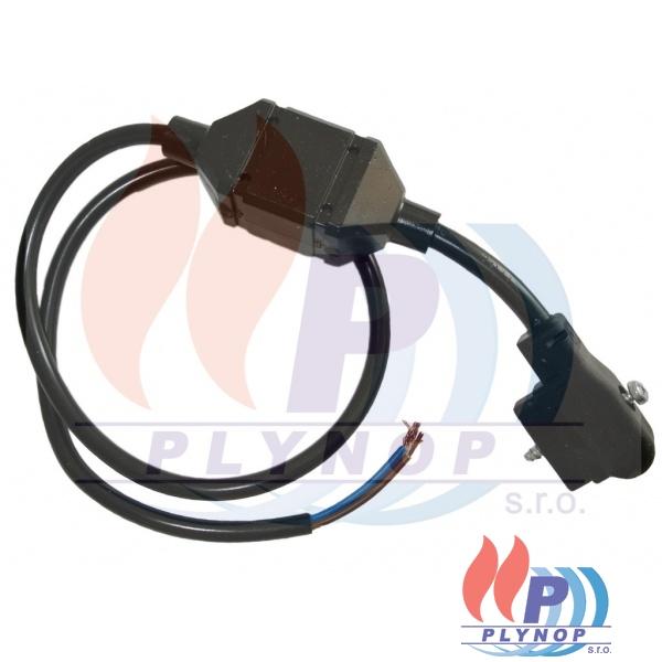 Kabel s konektorem a usměrňovačem k ventilu SIGMA SIT 843 THERMONA - 40989