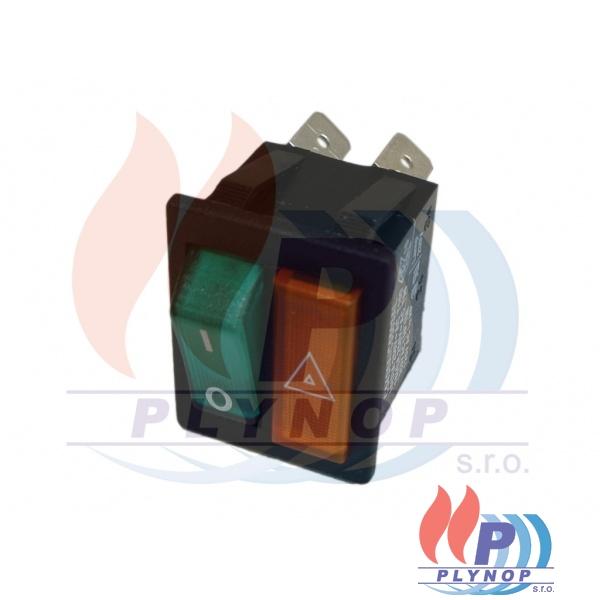 Vypínač s kontrolkou DESTILA / VIADRUS G42 ECO / G27 ECO / GL - 02905225 / 8105225