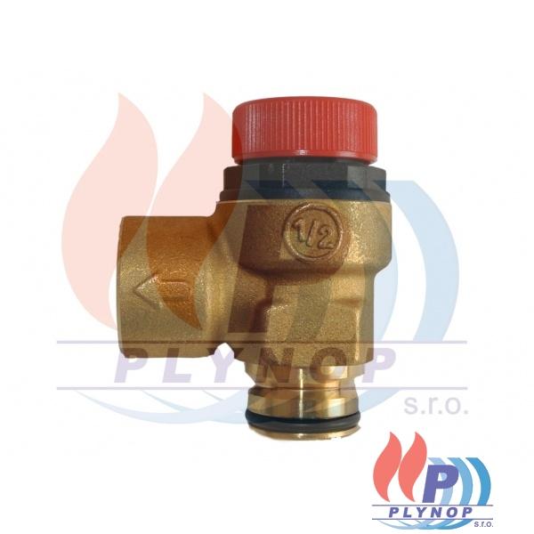Přetlakový ventil 3 bar s okroužkem, DUA PLUS 24 C - 1199 0015 / 8738101856
