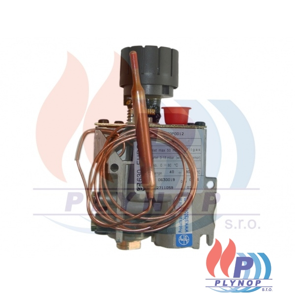 Plynová armatura SIT 630 40-80°C na ohřívač - 630019.10