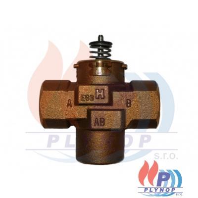 """Tělo trojcestného ventilu 1"""" vnitřní závity HONEYWELL - VCZMP6000/U"""